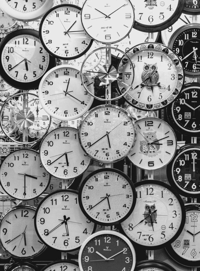 Heel veel klokken