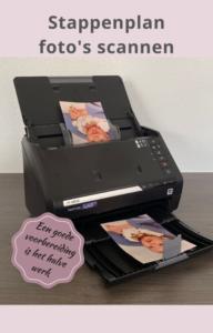 Snelle invoer scanner